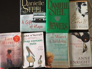 Various Novels for sale
