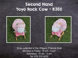 Second Hand Yoyo Rock Cow