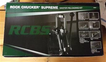 RCBS Rock Chucker Supreme Master Reloading Kit