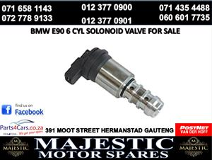 Bmw e90 6 cyl solenoid valve for sale