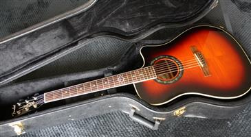 Fender Hot Rod Series T-Bucket 300 Acoustic Guitar with Case