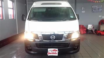 2014 Nissan NV350 2.5TDi fleet