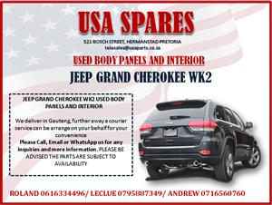 JEEP GRAND CHEROKEE WK2 USED BODY PANELS AND INTERIOR FOR SALE