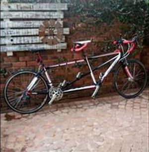 Tandem road bike Aleighh T 6000