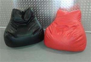 Leatherette Bean Bags For Sale: