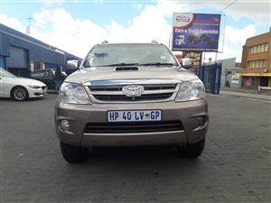 2007 Toyota Fortuner 3.0D 4D 4x4 Limited