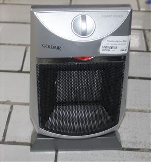 Grey goldair fan heater S037015A #Rosettenvillepawnshop