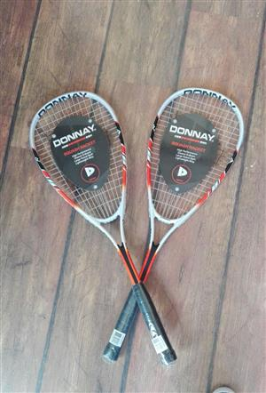 Donnay Squash Rackets (2)