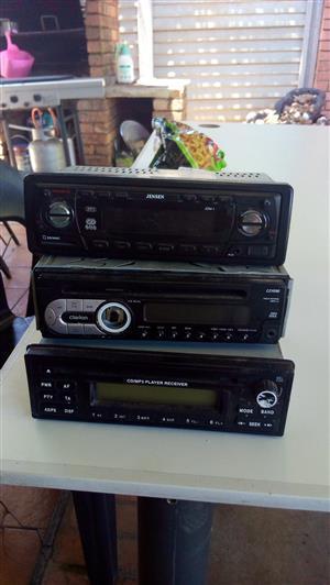 Car radios X3 all working