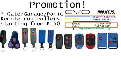 Gate/Garage/Panic Remote From R150