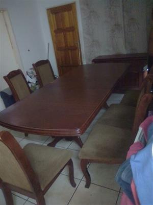 Oak Dinning room