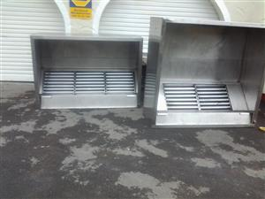 extraction canopies/ motors ducting etc new n used