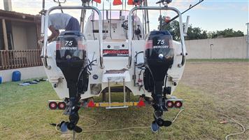 Deep sea boat - 18,6ft Quickcatch/Kozicat