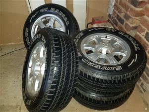 4x235 16 Inch Rims and Tyres