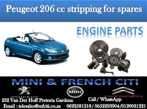 Engine parts On Big Special for Peugeot 206 cc