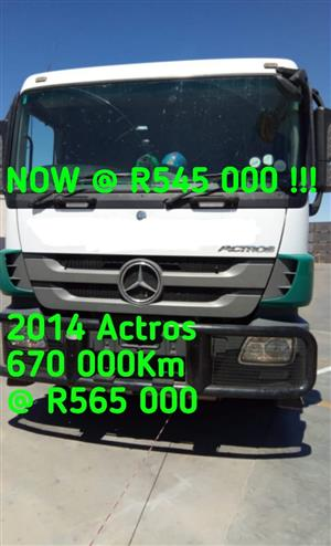 2014 Actros