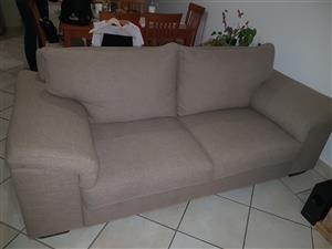 Coricraft 3 and 2 seater couch set (for sale as a set only)