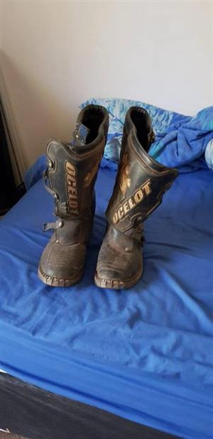 Ocelot boots for sale