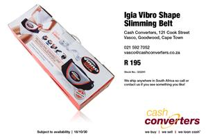 Igia Vibro Shape Slimming Belt