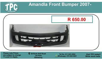 Amandla Front Bumper 2007- For Sale.