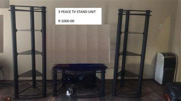3 Piece tv stand unit for sale