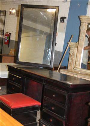 Brown dressing table S031304A #Rosettenvillepawnshop
