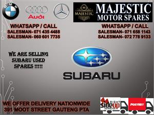 Subaru used spares for sale