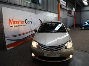 2016 Toyota Etios hatch 1.5 Sprint