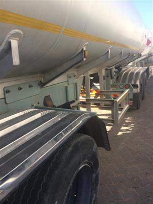 Sa road tankers 2007 at R119000
