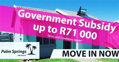 New houses for sale in Alberton