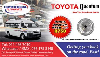 2012 Wheel Cap For Toyota Quantum Sesfikile For Sale.