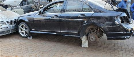 Mercedes W204 c350 2010 Model Stripping for Spares