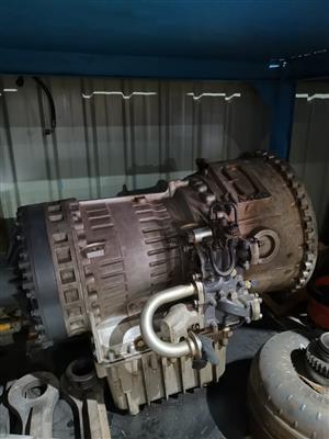 Volvo A40 transmission