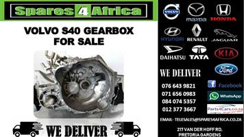 VOLVO S40 GEARBOX