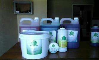 Manual/Training on how to manufacture cleaning chemicals including high foam and low foam washing powder. R350