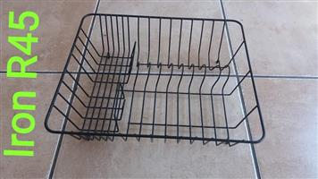 Iron dish drying rack for sale