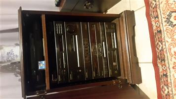 SALE : Stereo Cabinet and Pioneer Stereo Set