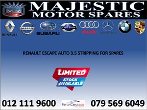 Renault escape used spares for sale