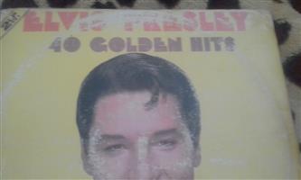 Golden oldies vinyl records