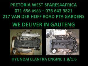 Hyundai entrant 1.8/1.6 Engine for sale