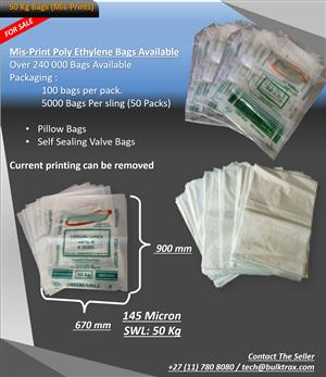 50 Kg Bags For sale