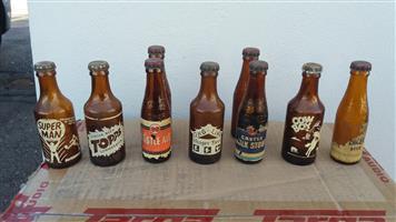 Vintage Collectable Miniature Bottles