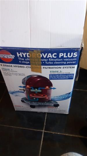 genesis hydrovac plus vacuum cleaner