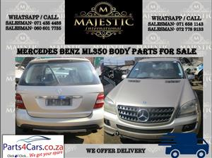 Mercedes Benz ML350 body parts for sale