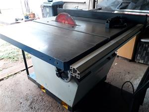 Industrial 3Phase 14inch Tilting Arbour Table Saw