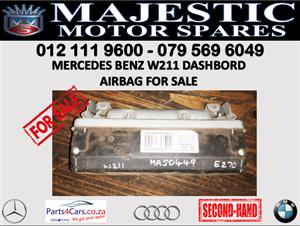 Mercedes benz W211 dashboard airbags for sale