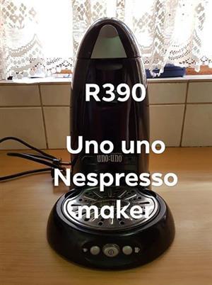 Russell Hobbs Nespresso maker,