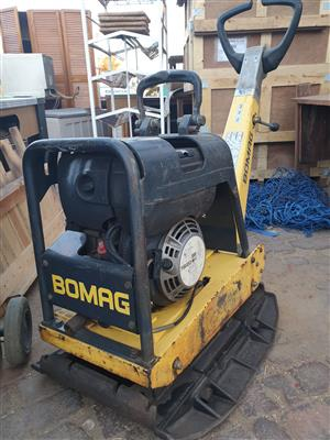 Bomag Plate Compactor