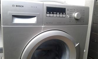 Bosch front loader washing machine for sale