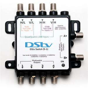 DSTV  Explora Switch (5-2) for sale